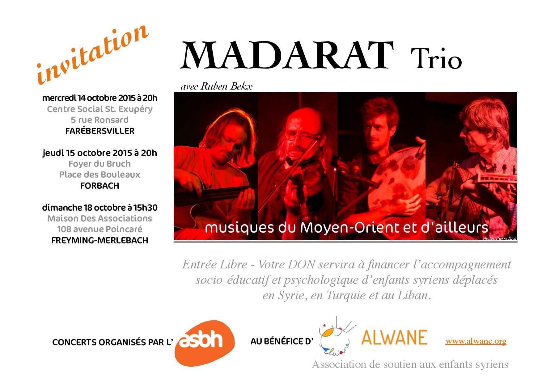 MADARAT Trio