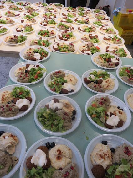assiettes buffet