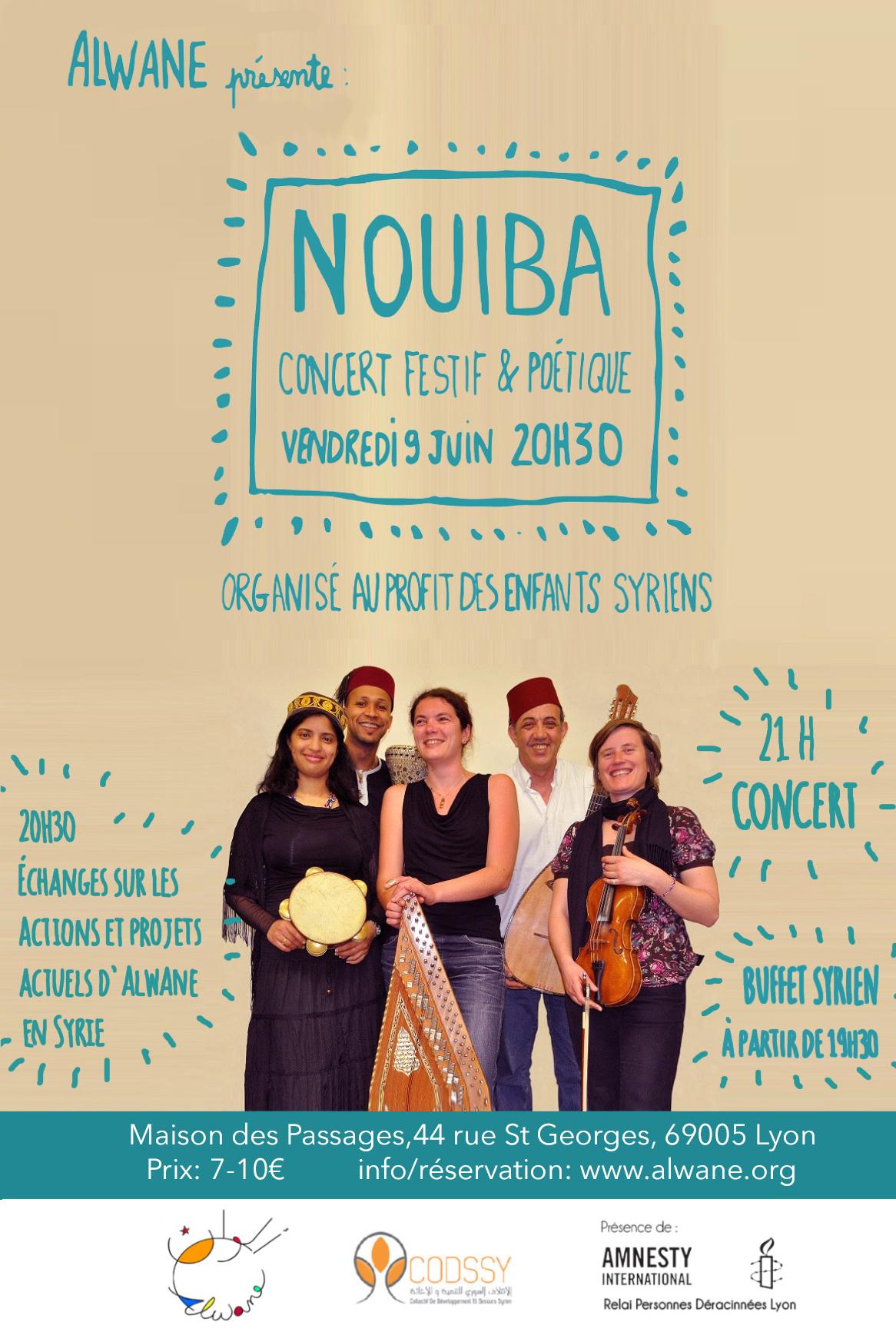 NOUIBA, concert festif et poétique