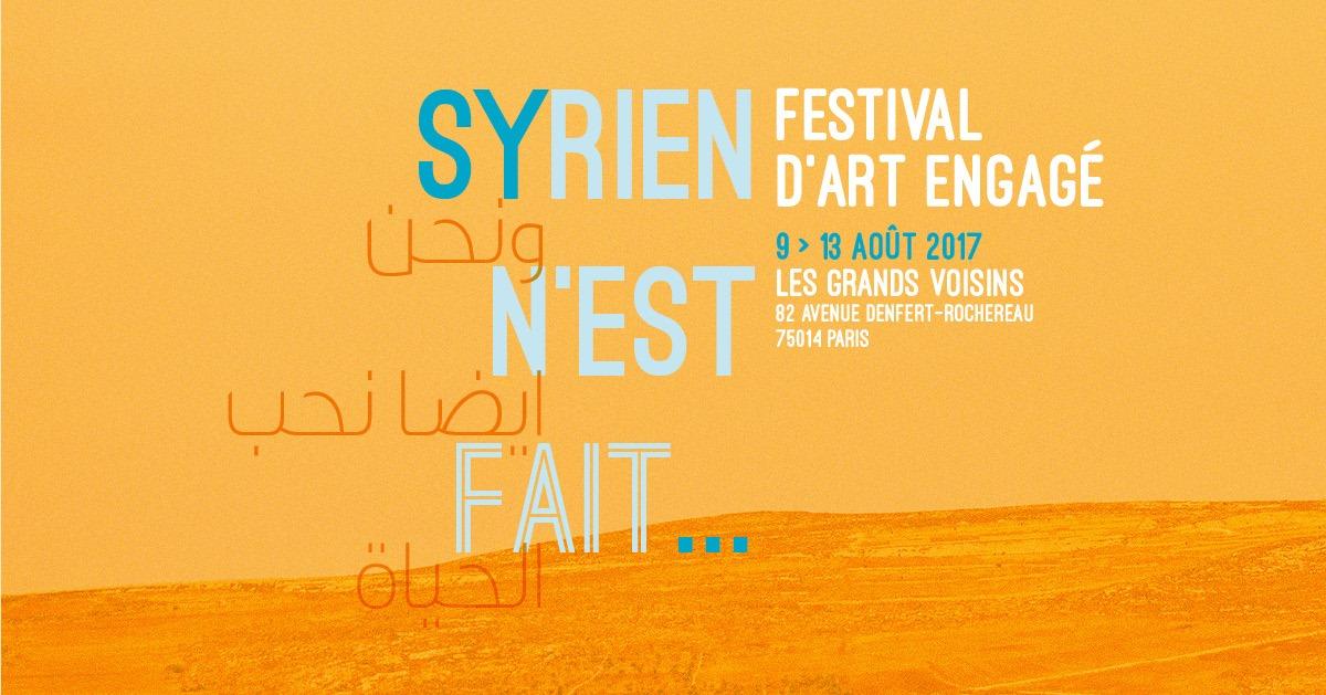 Festival Syrien n'est fait