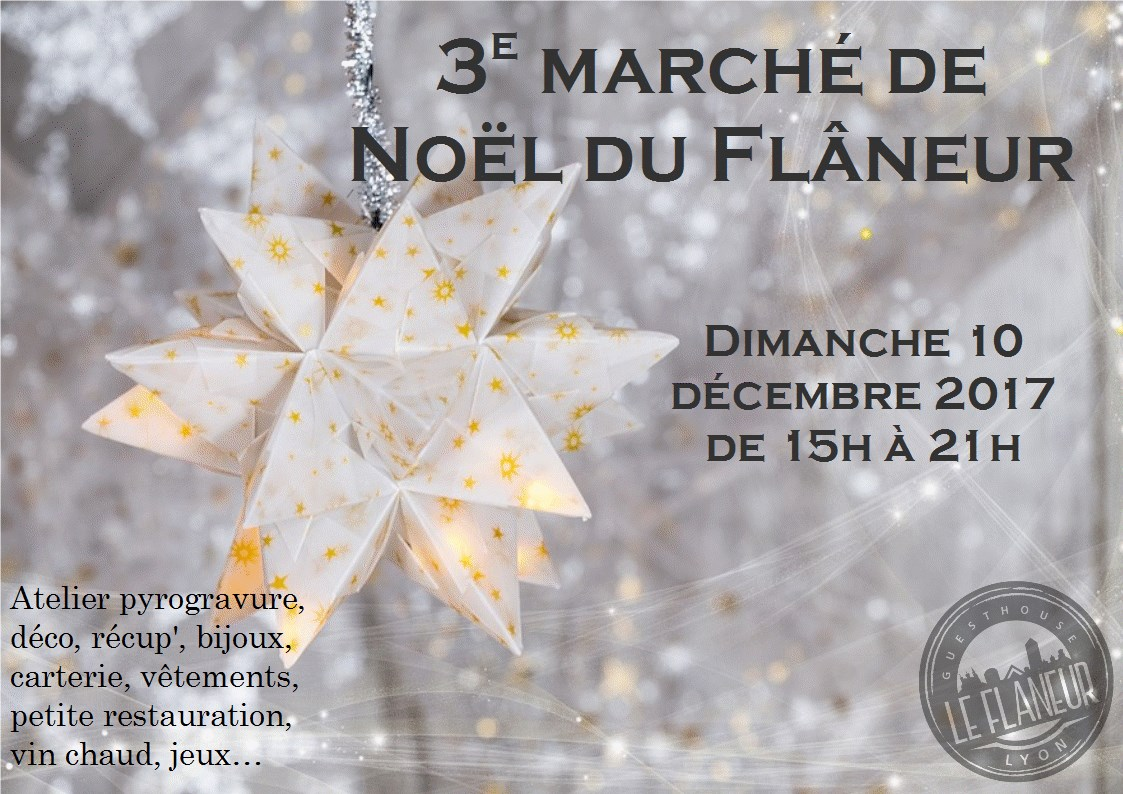Marché de Noël au Flâneur