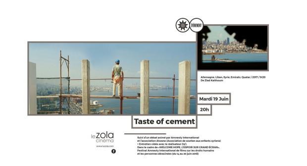 taste of ciment