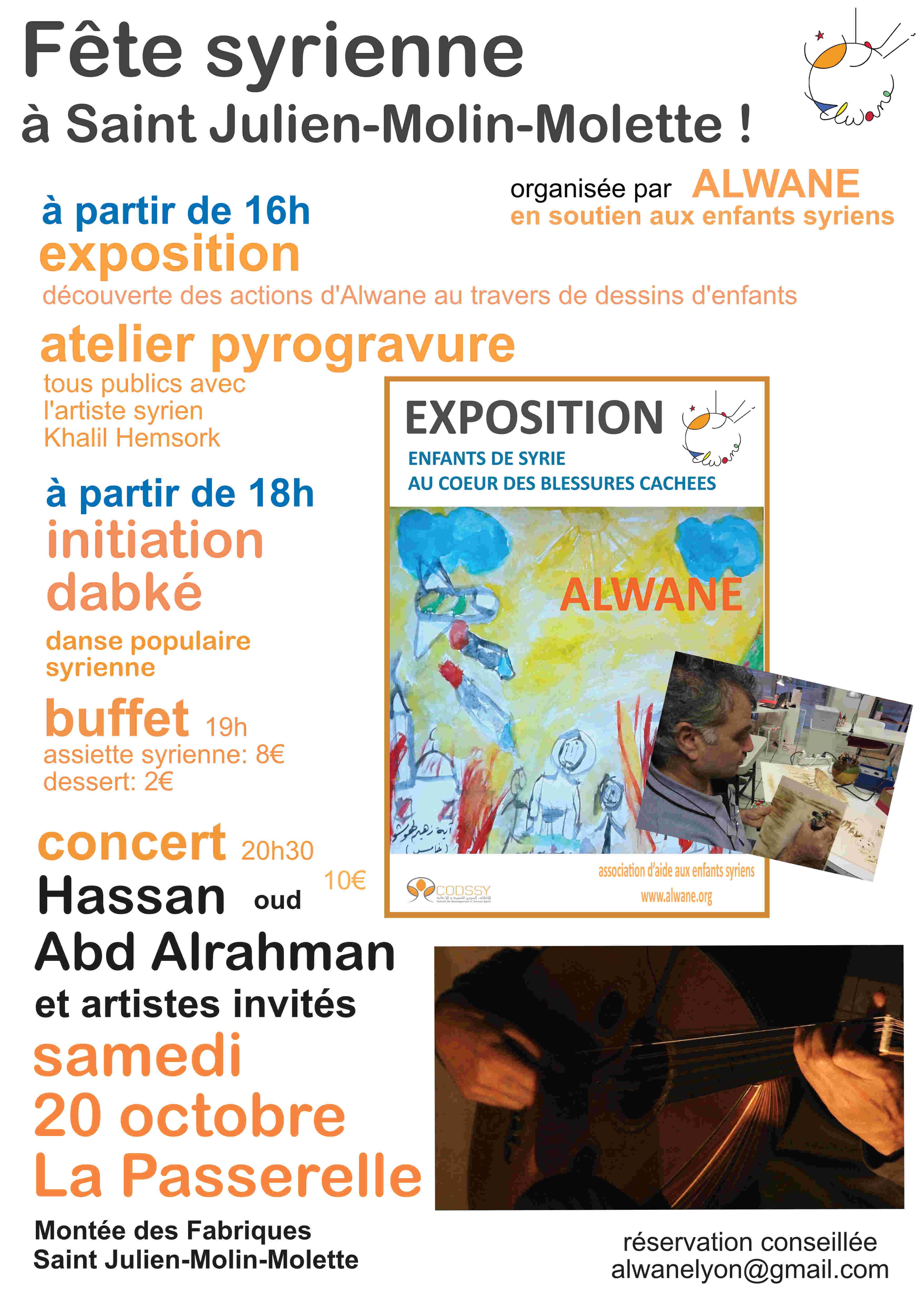 Fête syrienne à Saint Julien-Molin-Molette!