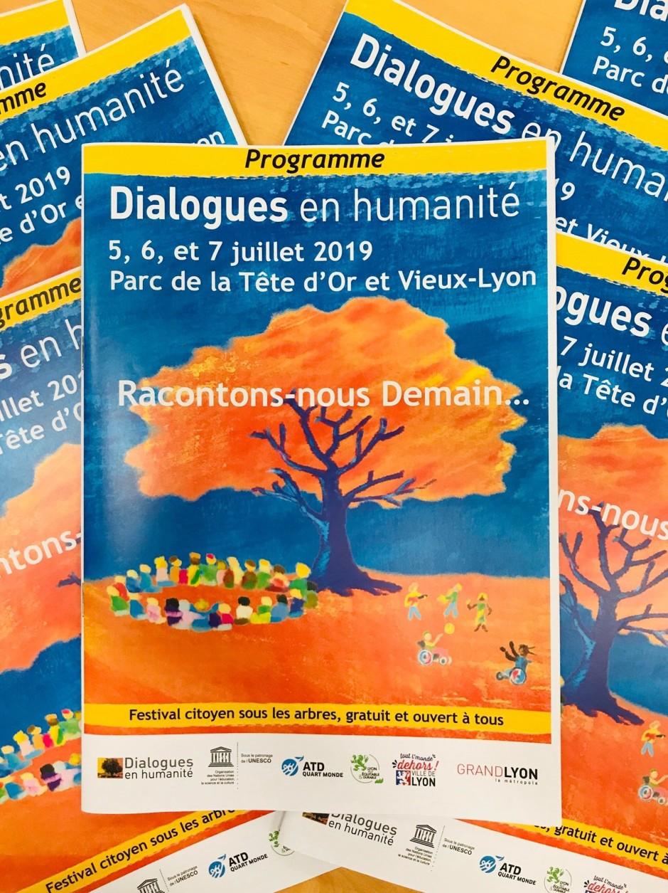 visuel dialogues en humanité