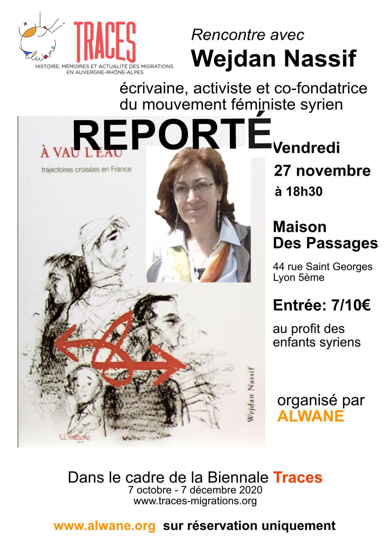 visuel 27 novembre Traces 2 REPORTE