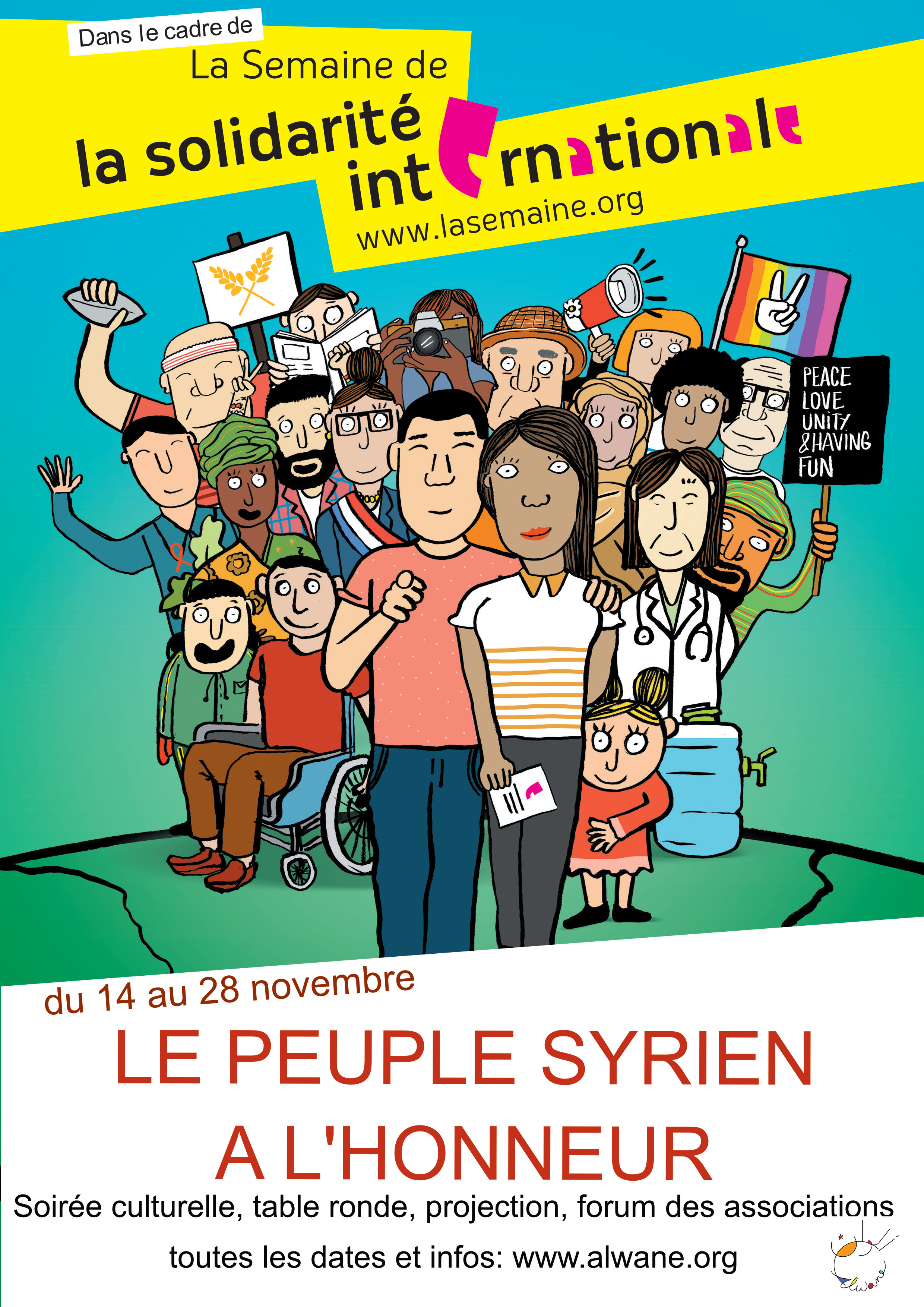 Forum des associations Semaine de la Solidarité Internationale