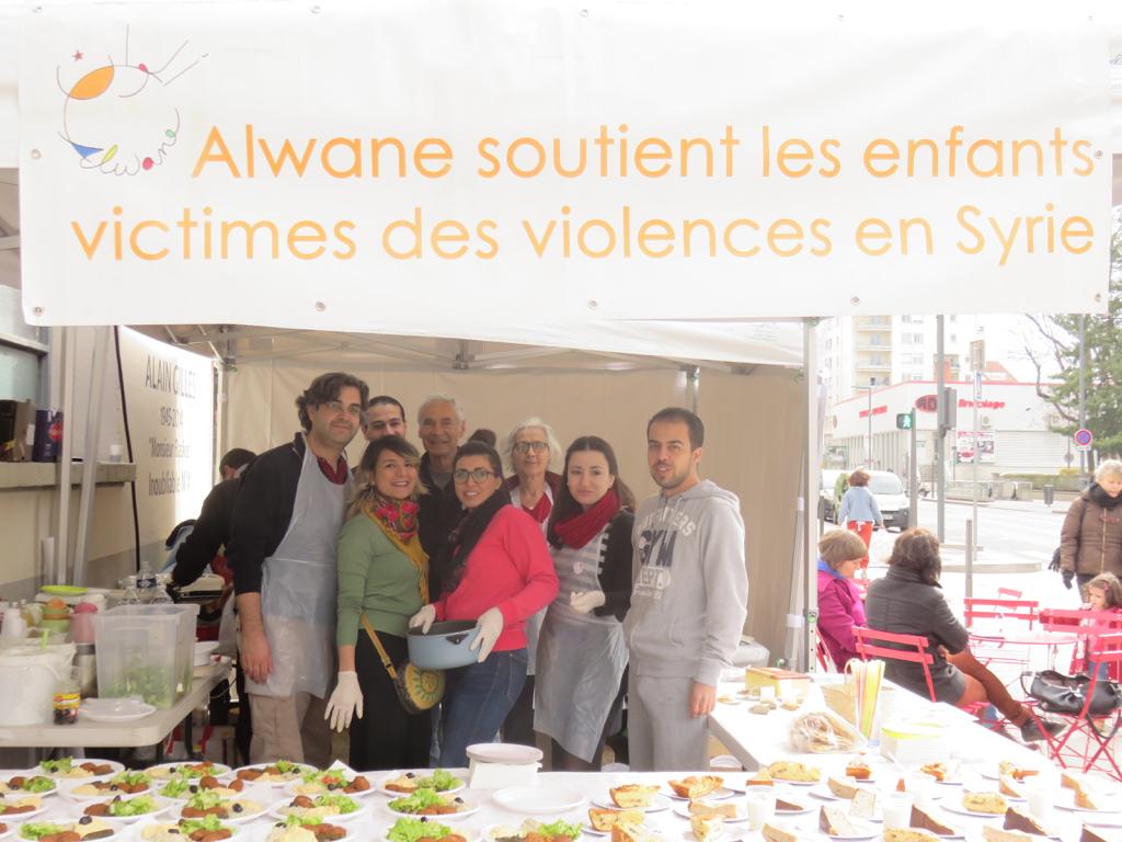 Stands restauration Fête du livre jeunesse de Villeurbanne 6 et 7 avril