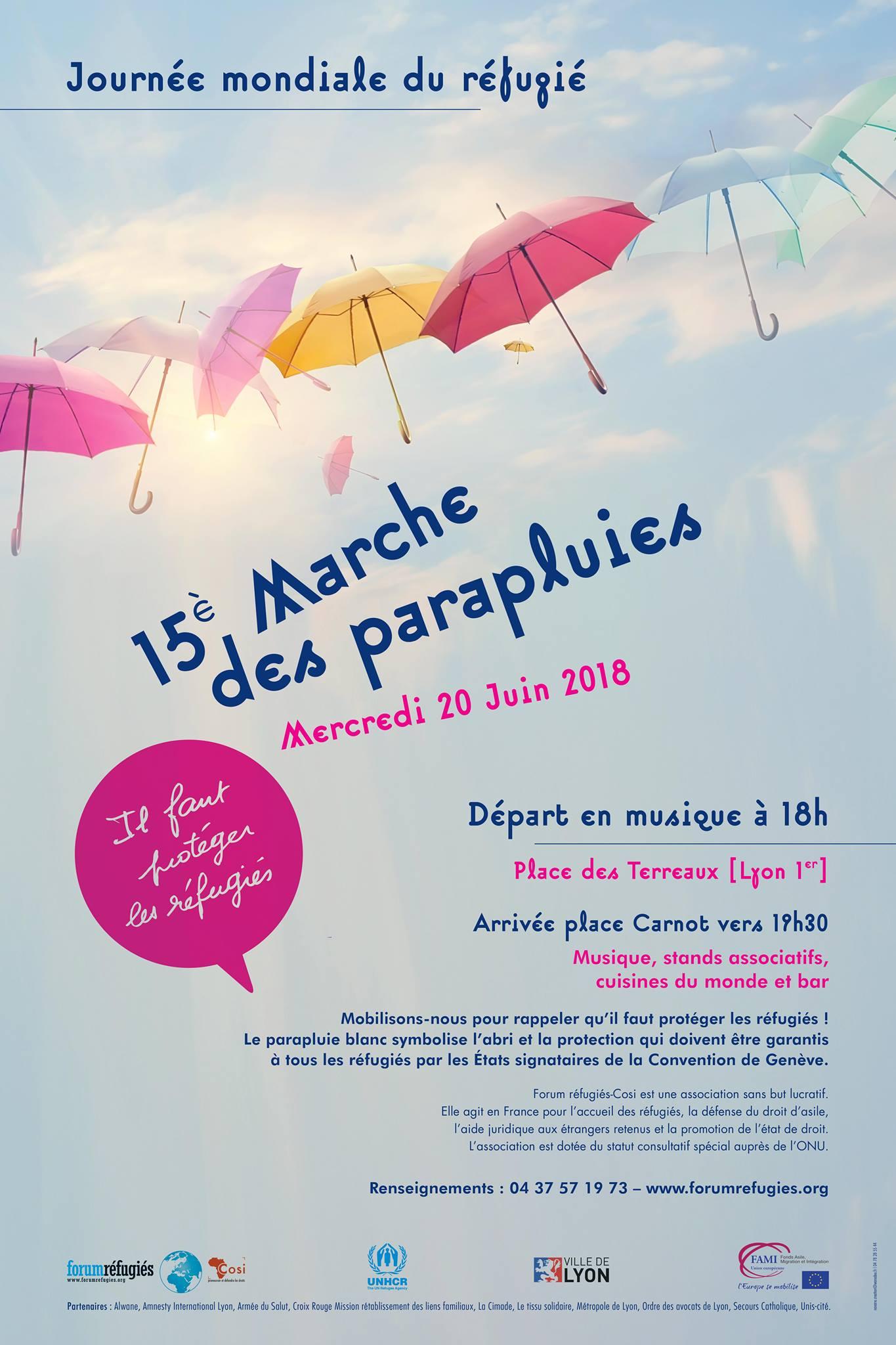 Marche des Parapluies