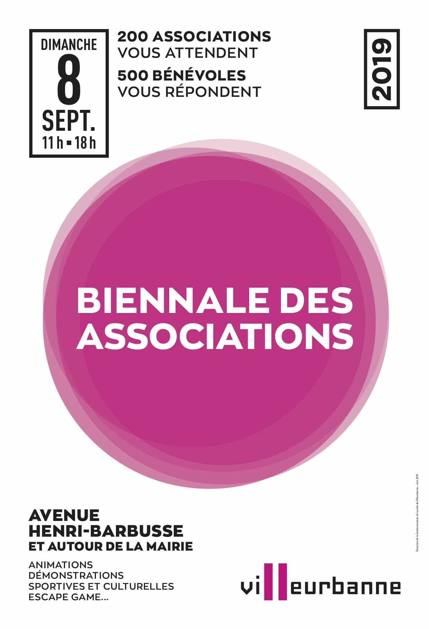 Biennale des associations de Villeurbanne