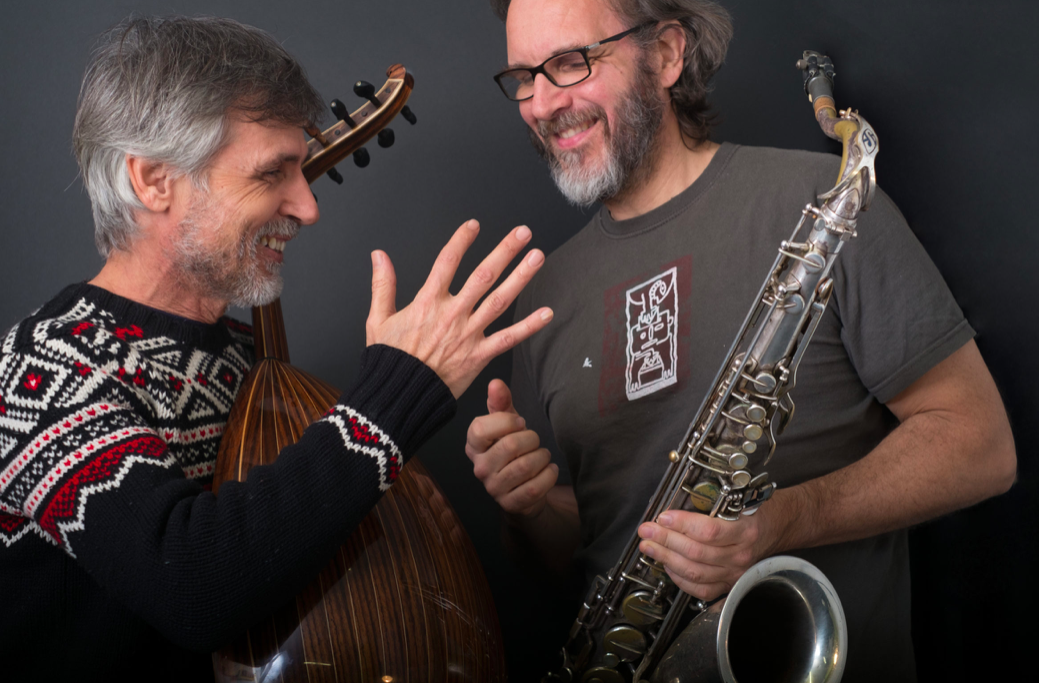 Duo Lambert Abd Alrahman, oud et saxophone